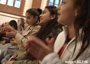 AG-F+M INTERKULTURELLE VERANSTALTUNG für Flüchtlinge in der St. Joseph Kirche 6 Dezember 2014