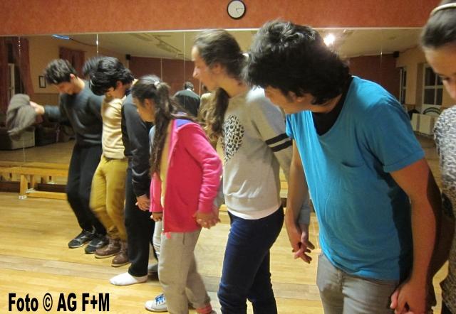 AG F+M Flüchtlingstanzgruppe im Jugendsportklub ARENA
