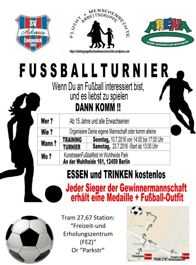 AG F+M Fussball Turnier